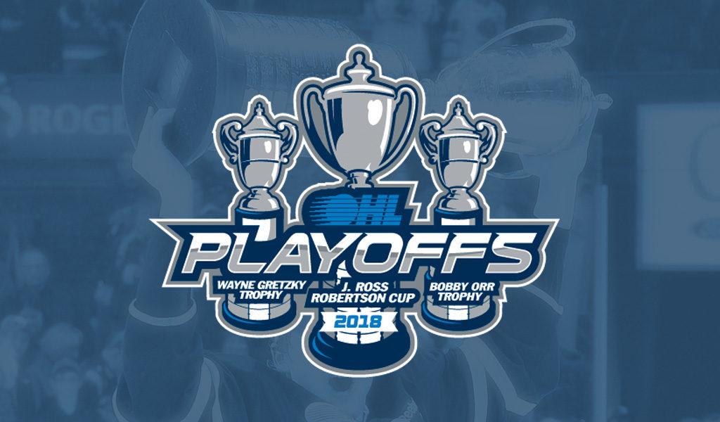 2018 Ohl Playoffs First Round Schedule Ontario Hockey League