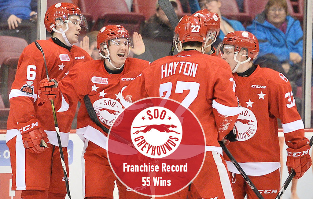Greyhounds cap regular season with franchise record 55th win