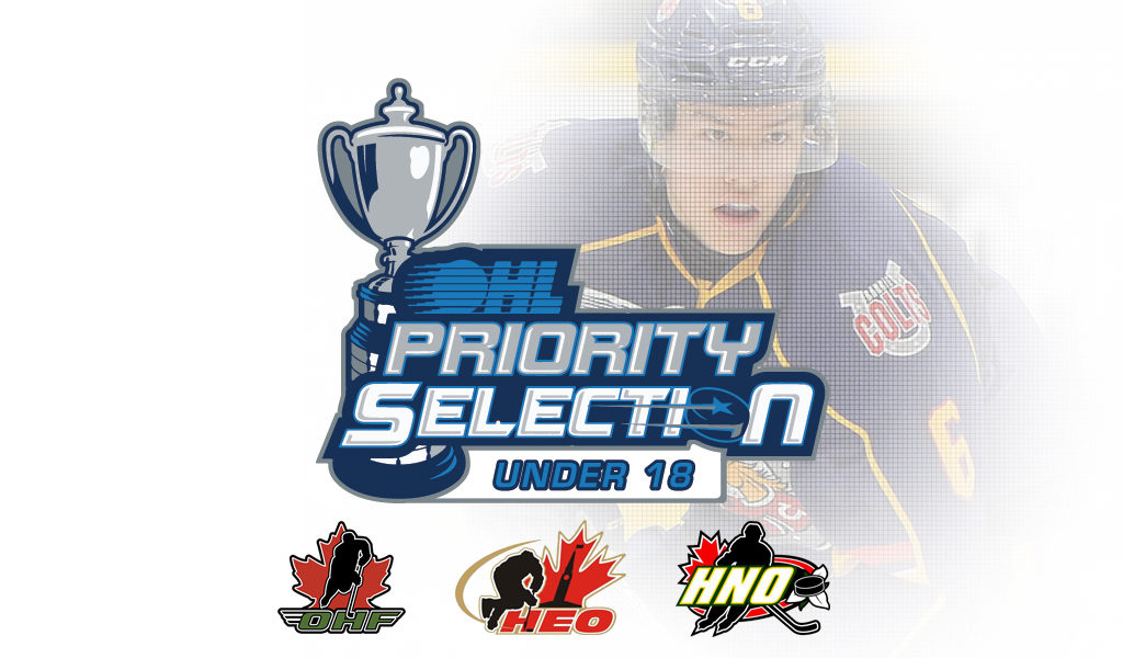 Under 18 Priority Selection A Developing Process Ontario Hockey League
