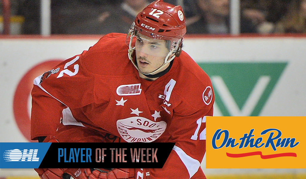 OHL 'On the Run' Player of the Week: Boris Katchouk – Soo