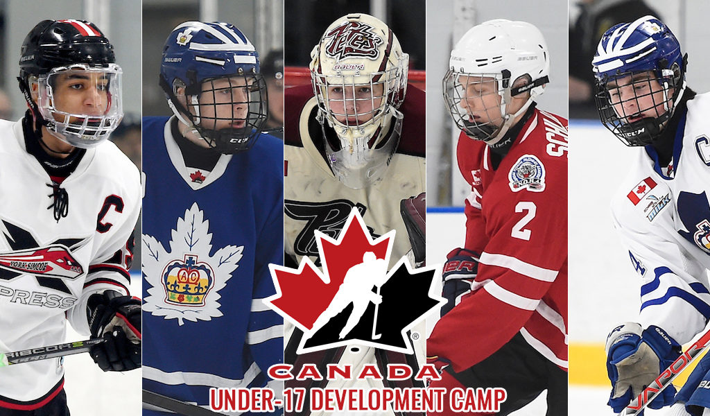 54 Ohl Prospects Invited To Hockey Canada S National Under 17