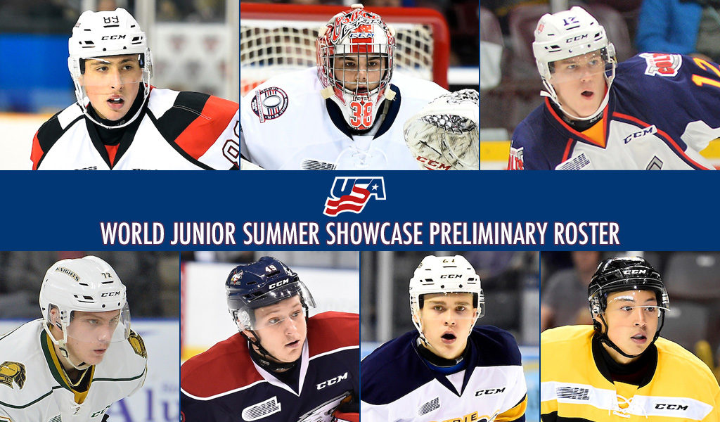 Seven Ohl Players Named To Initial U S Roster For World Junior