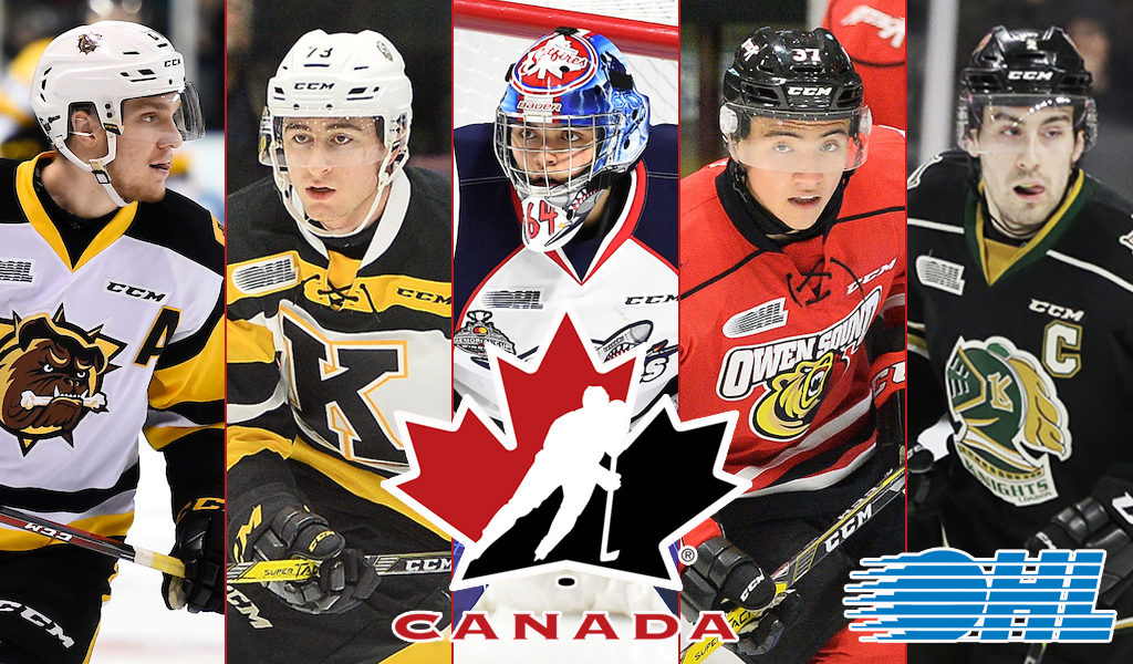 16 Ohl Players Invited To Hockey Canada S World Junior Showcase