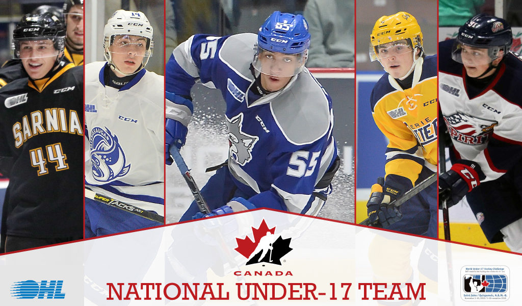 27 Ohl Players To Represent Canada At 2018 World Under 17 Hockey