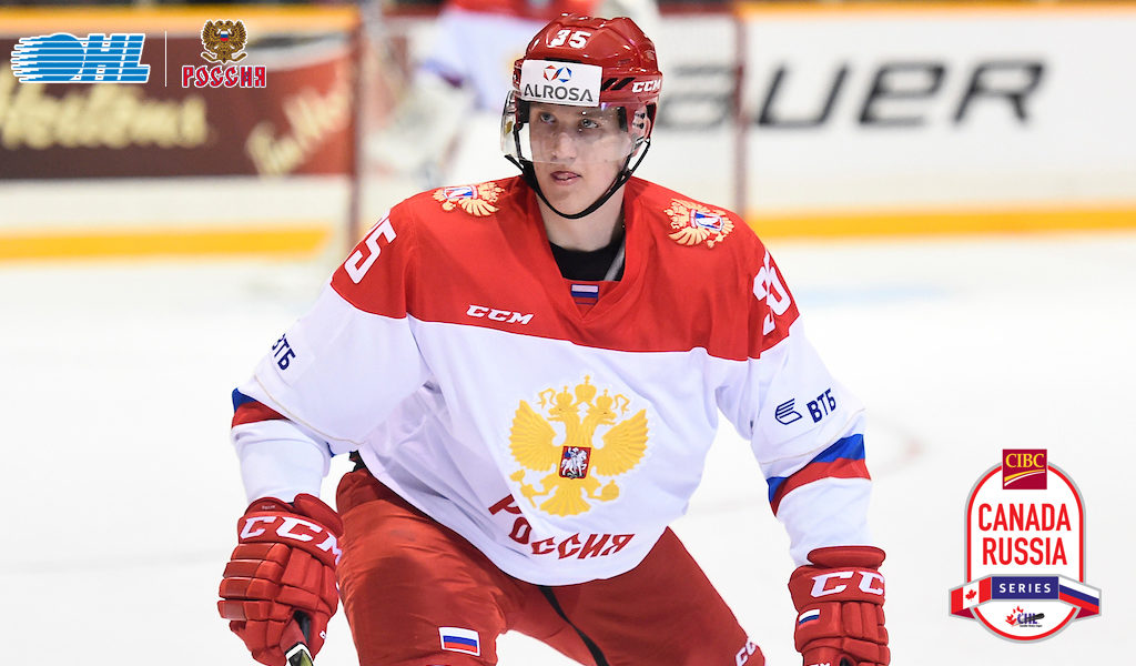 Russian Roster For 2018 Cibc Canada Russia Series Features 5 Ohl
