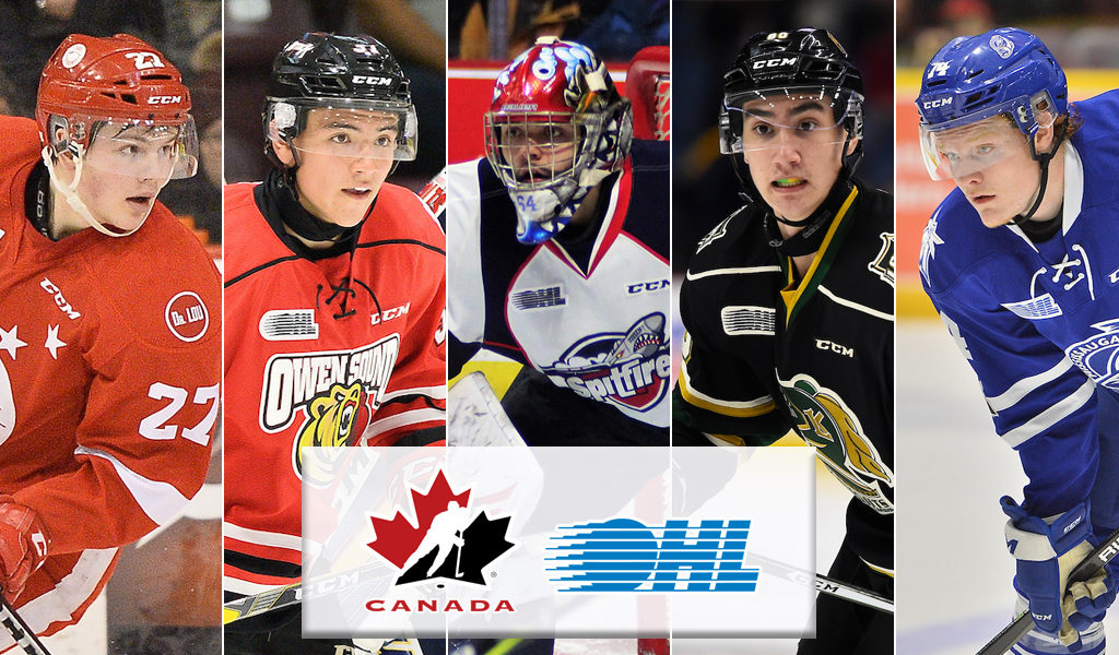 15 Ohl Players Named To Canada S National Junior Team Selection Camp