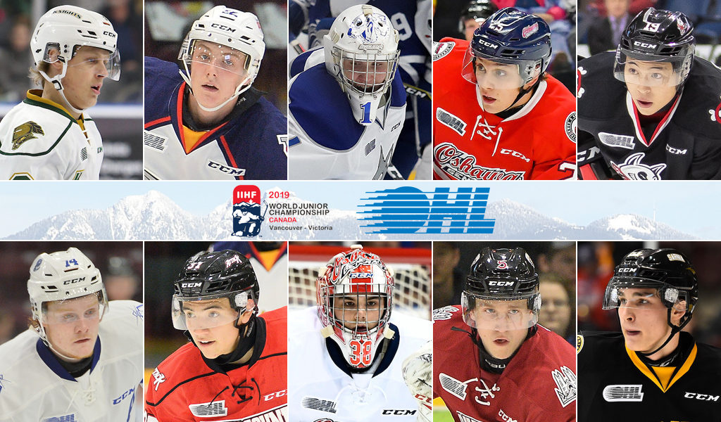 21 Ohl Players Chasing Gold At 2019 Iihf World Juniors Ontario