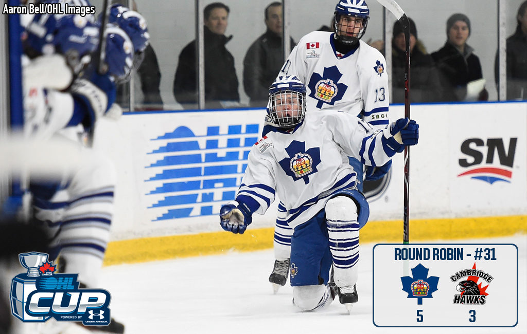 Halliday's quick pair spark turnaround for Marlboros – OHL Cup