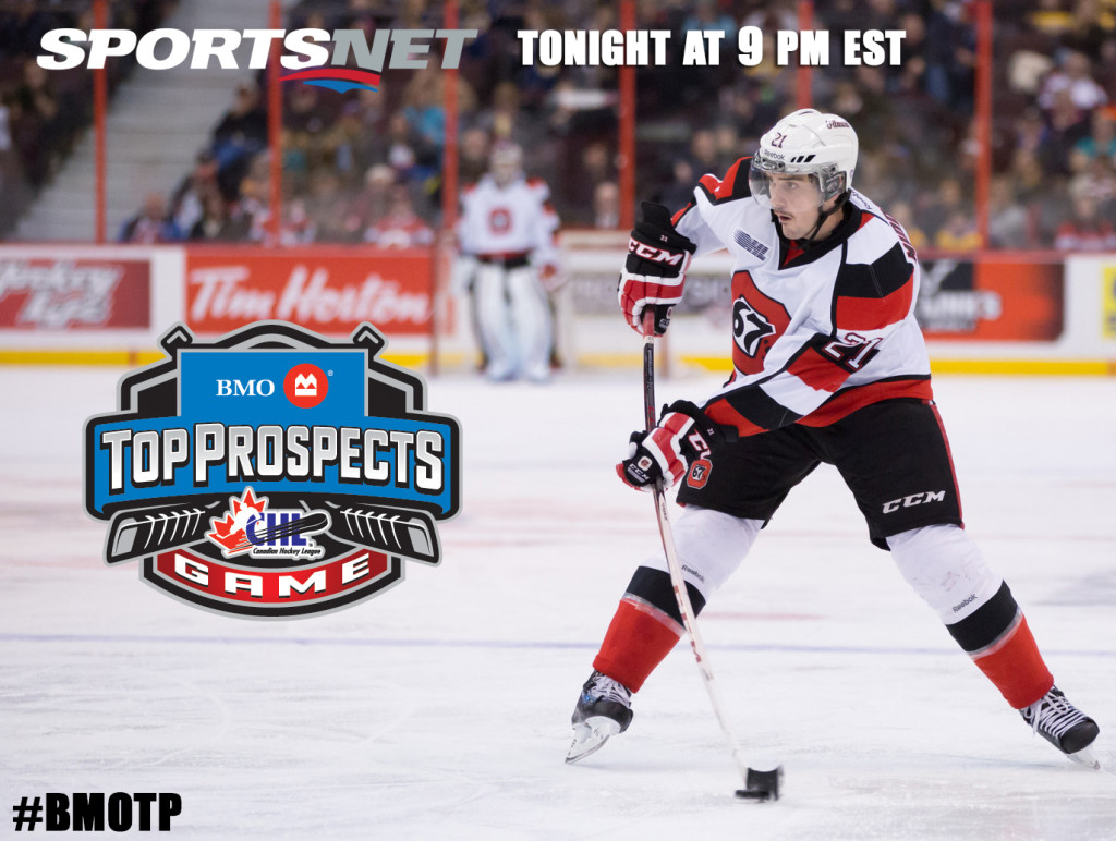 Middleton To Suit Up For Team Cherry Tonight Ottawa 67s