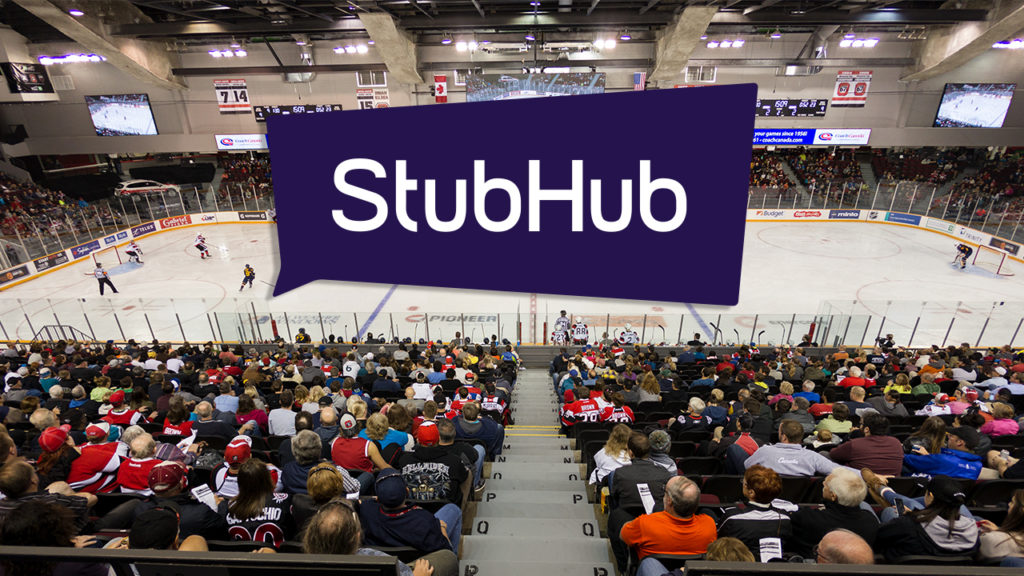 StubHub Becomes Official Ticket Partner at TD Place - Ottawa 67s