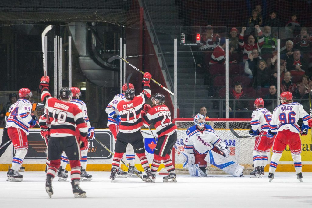 67 S Beat By The Buzzer On Family Day Thriller Ottawa 67s