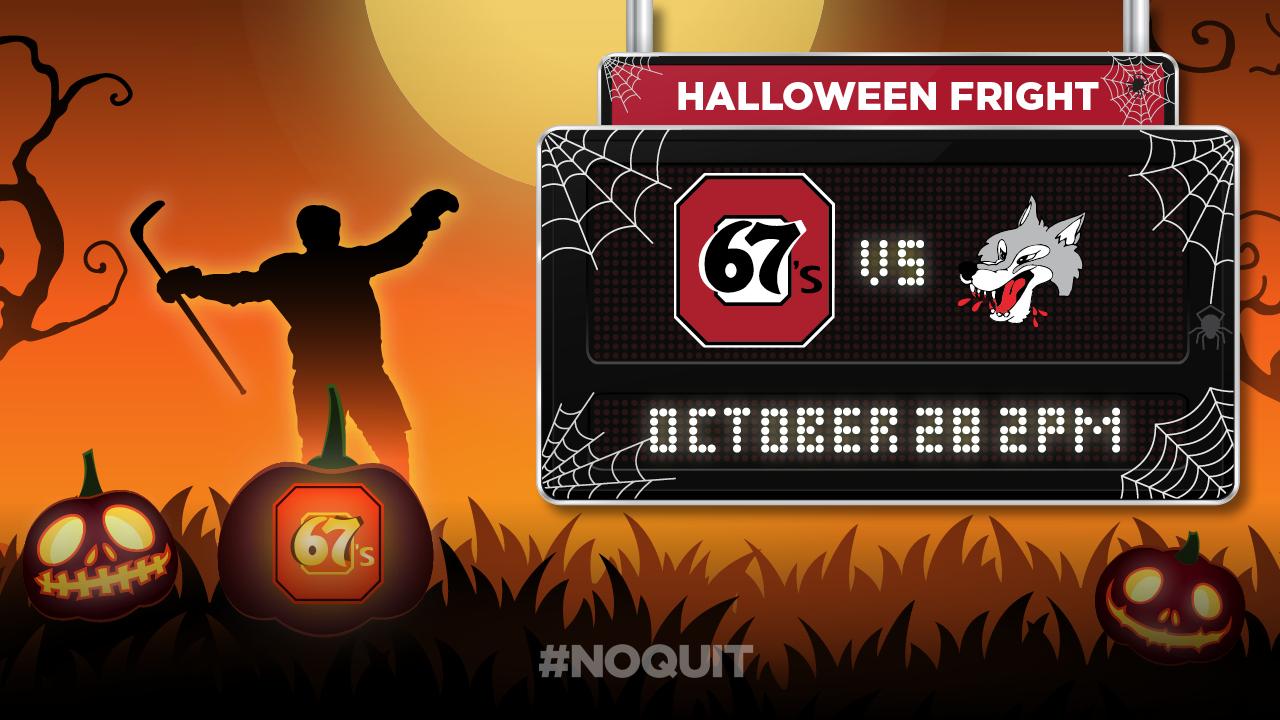 Halloween Games 2018.67 S Halloween Fright October 28th Ottawa 67s