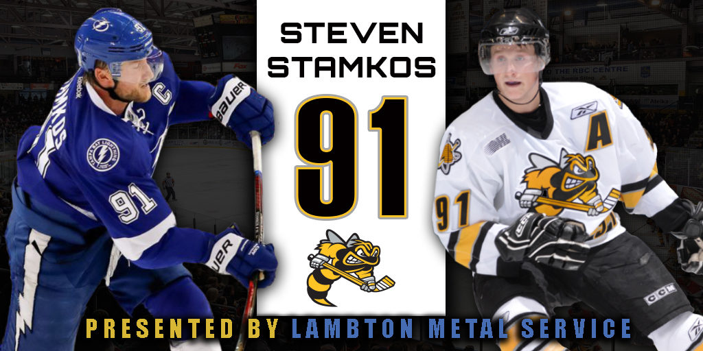 sports shoes 557d5 ccbab Doors To Open Early For Steven Stamkos Jersey Retirement ...