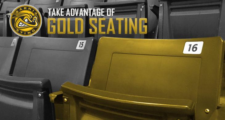 Gold Seating
