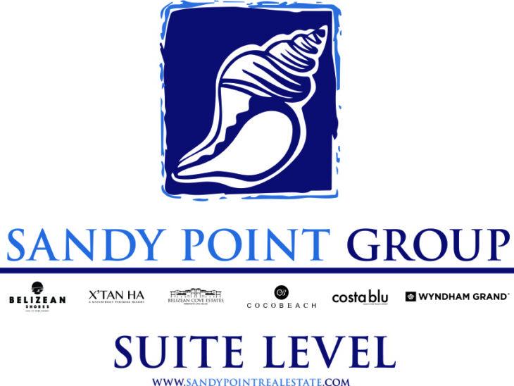 Sandy Point Suite Level - colour Text Colour Logo