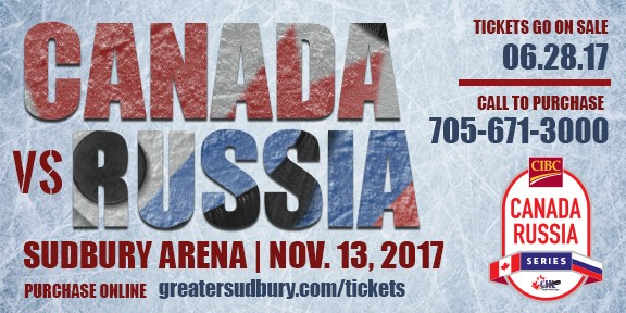 Game 4 CIBC Canada Russia Series Ticket On-Sale June 28th