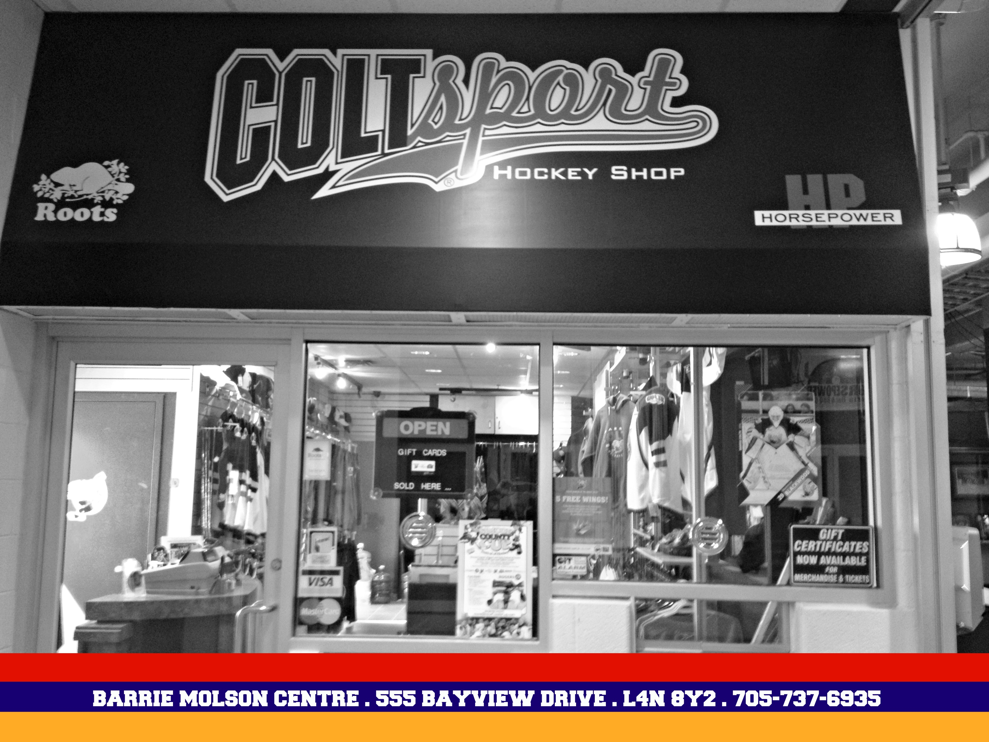 Coltsport Hockey Shop Barrie Colts