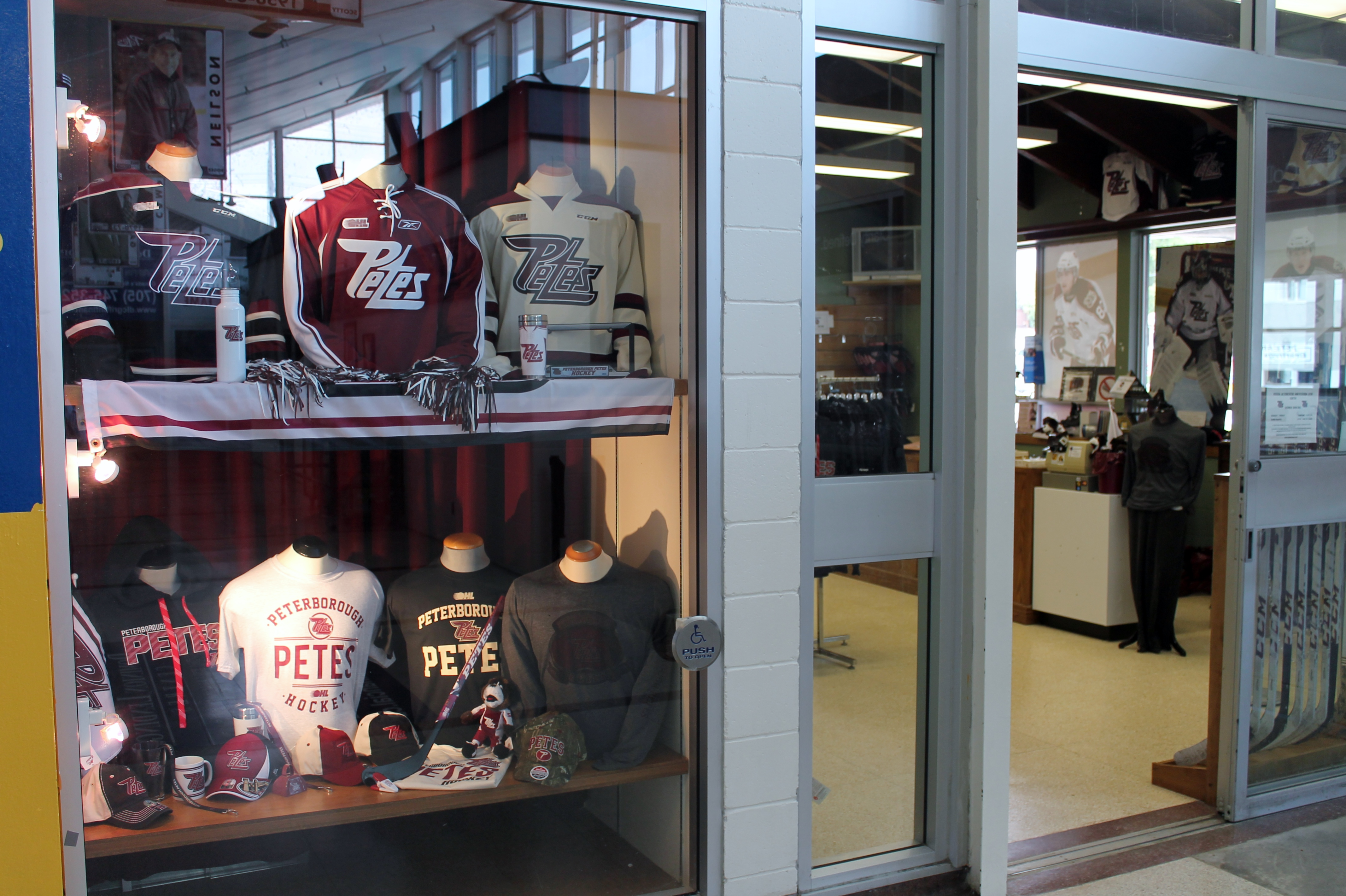 Store Hours Peterborough Petes