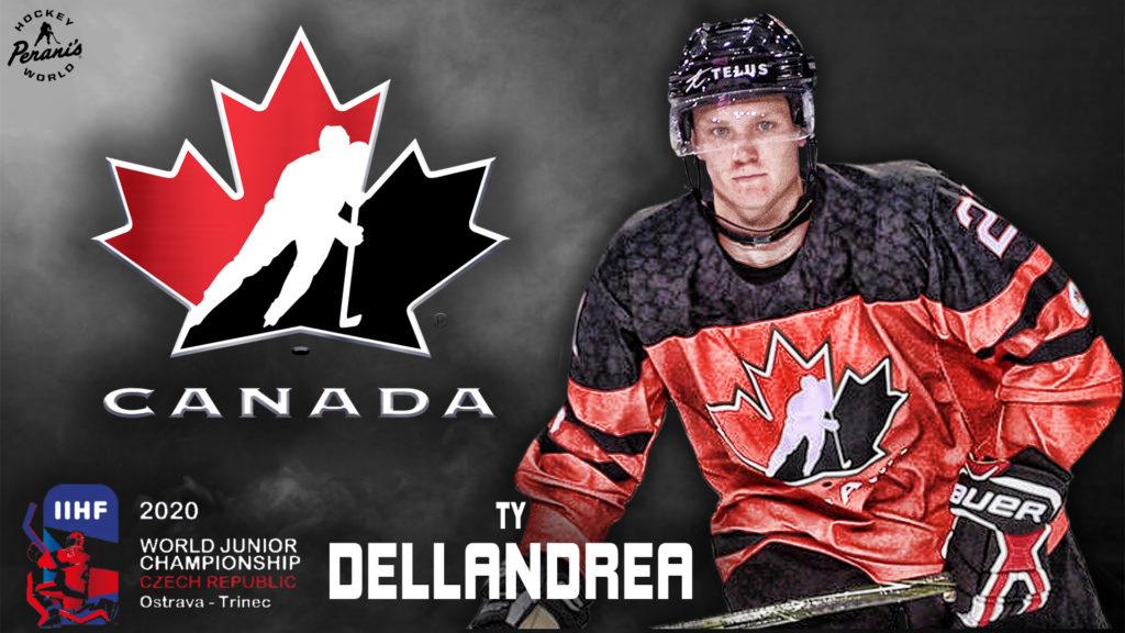 Dellandrea invited to Canada's National Junior Team Summer