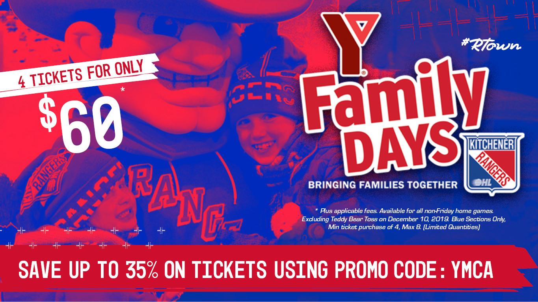 YMCA Family Days – Kitchener Rangers