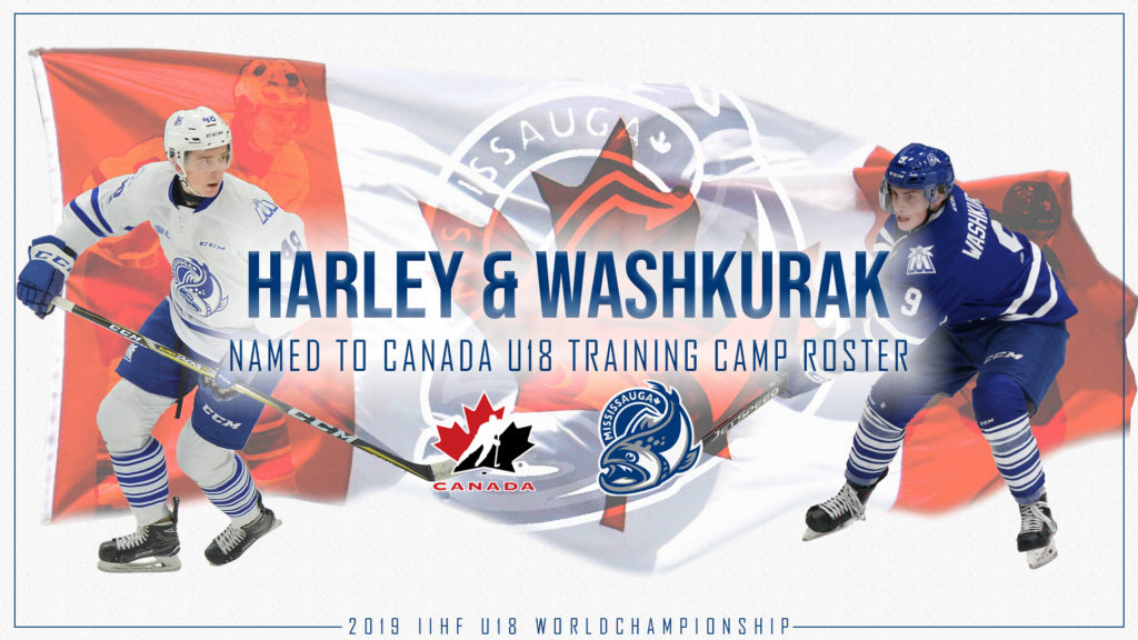 Harley And Washkurak Earn Spots On Canada S Under 18 Roster