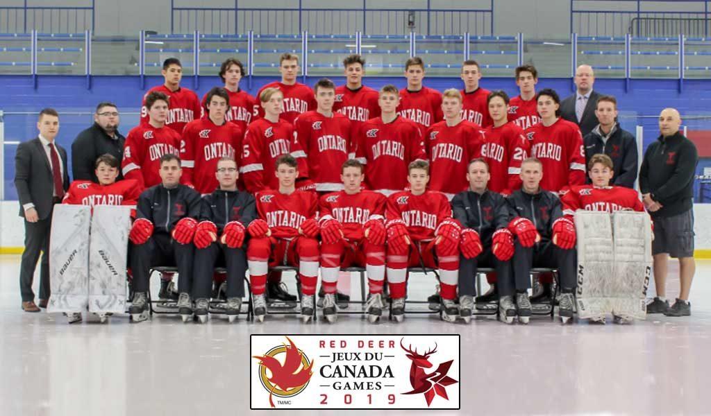Team Ontario Set For Action At Canada Winter Games Ontario Hockey