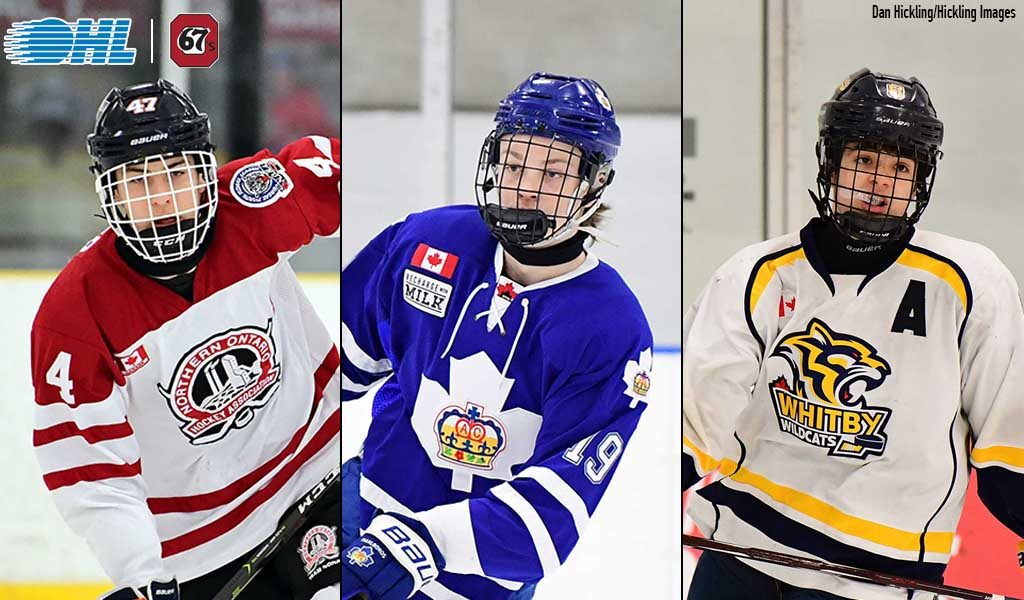 Top selections Matier, Beck and Sirizzotti commit to 67's ...
