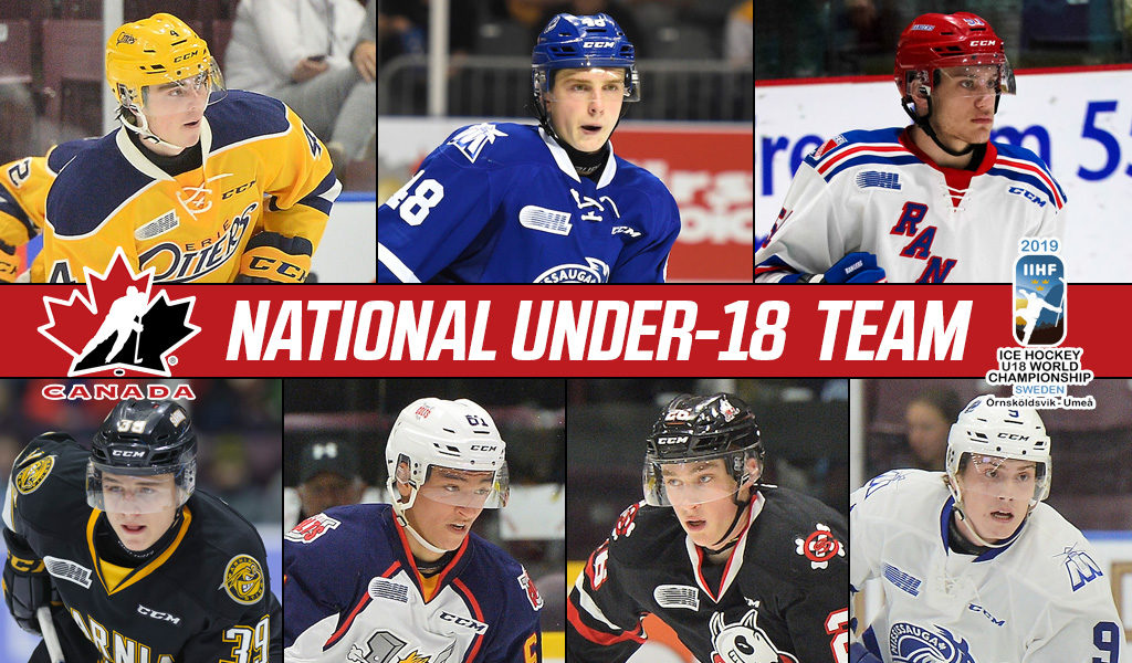 7 Ohl Players To Represent Canada At World U18 Hockey Championship