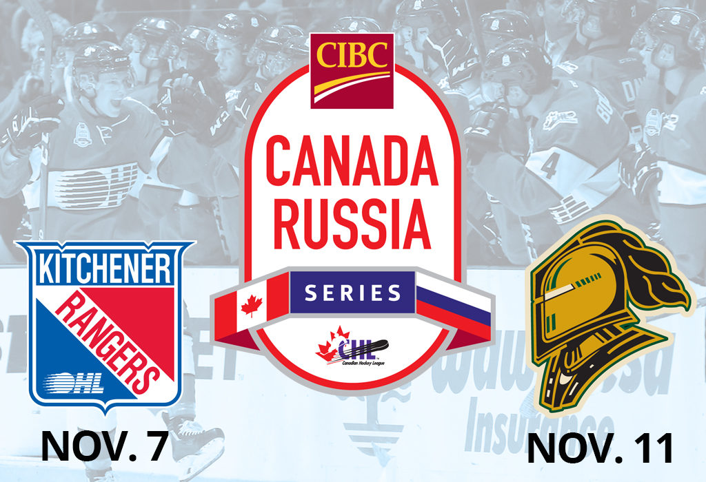 Kitchener And London To Host 2019 Cibc Canada Russia Series