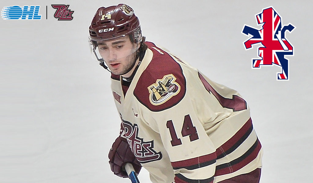 Petes Kirk Named To Great Britain S World Championship Roster