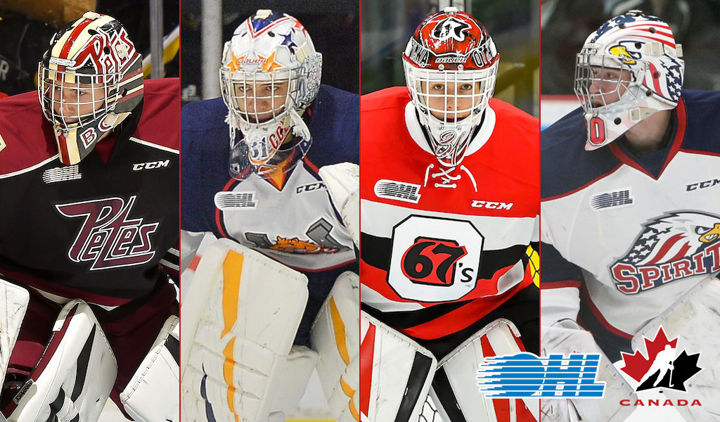 OHL netminders invited to Canada's Program of Excellence