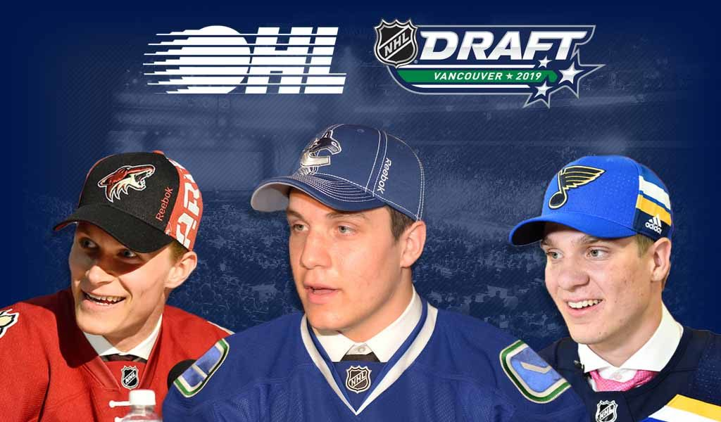 The Ohl S First Round Impact At The Nhl Draft Ontario Hockey League
