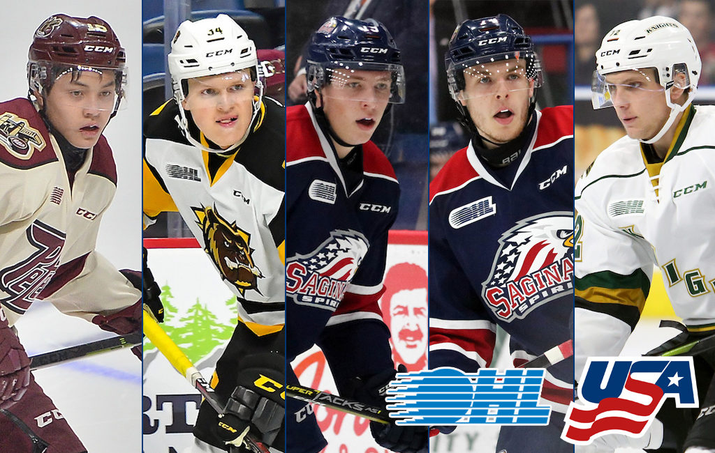 5 Ohl Players Named To U S Roster For World Junior Summer Showcase