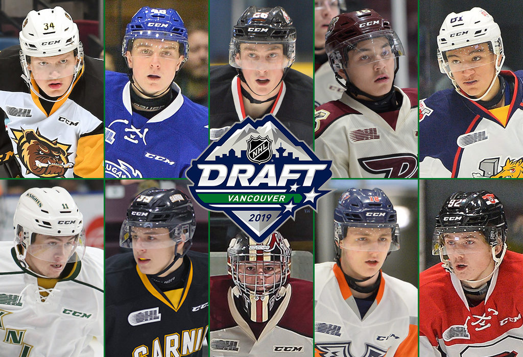 Ohl Talent Ready For 2019 Nhl Draft Ontario Hockey League