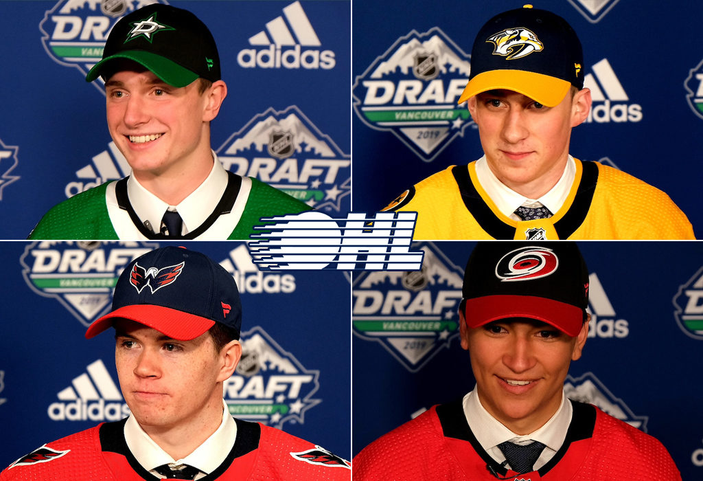 Four Ohl Players Selected In First Round Of 2019 Nhl Draft Ontario