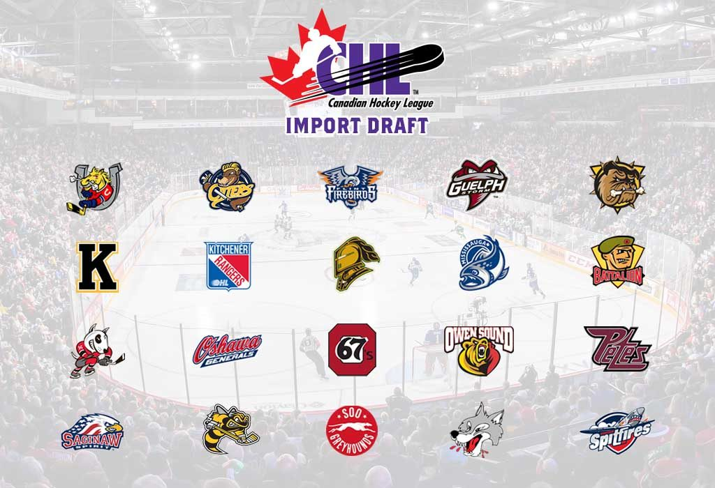 OHL Clubs Select 28 Players in 2019 CHL Import Draft