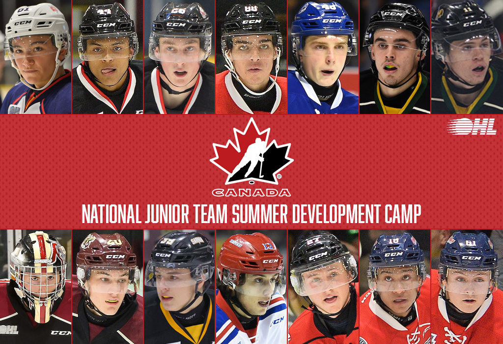 14 OHL players attending Canada's National Junior Team