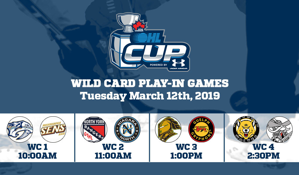 603668712 With five years of Wild Card action at the OHL Cup Powered by Under Armour  behind us, eight more teams have a chance to gain entry into the annual  showcase ...