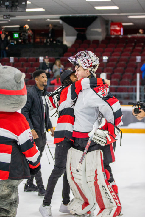 Will Cranley gets his firs OHL shut-out as the 67's blank Mississauga 2-0.