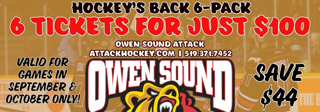 Owen Sound Attack – Official site of the Owen Sound Attack