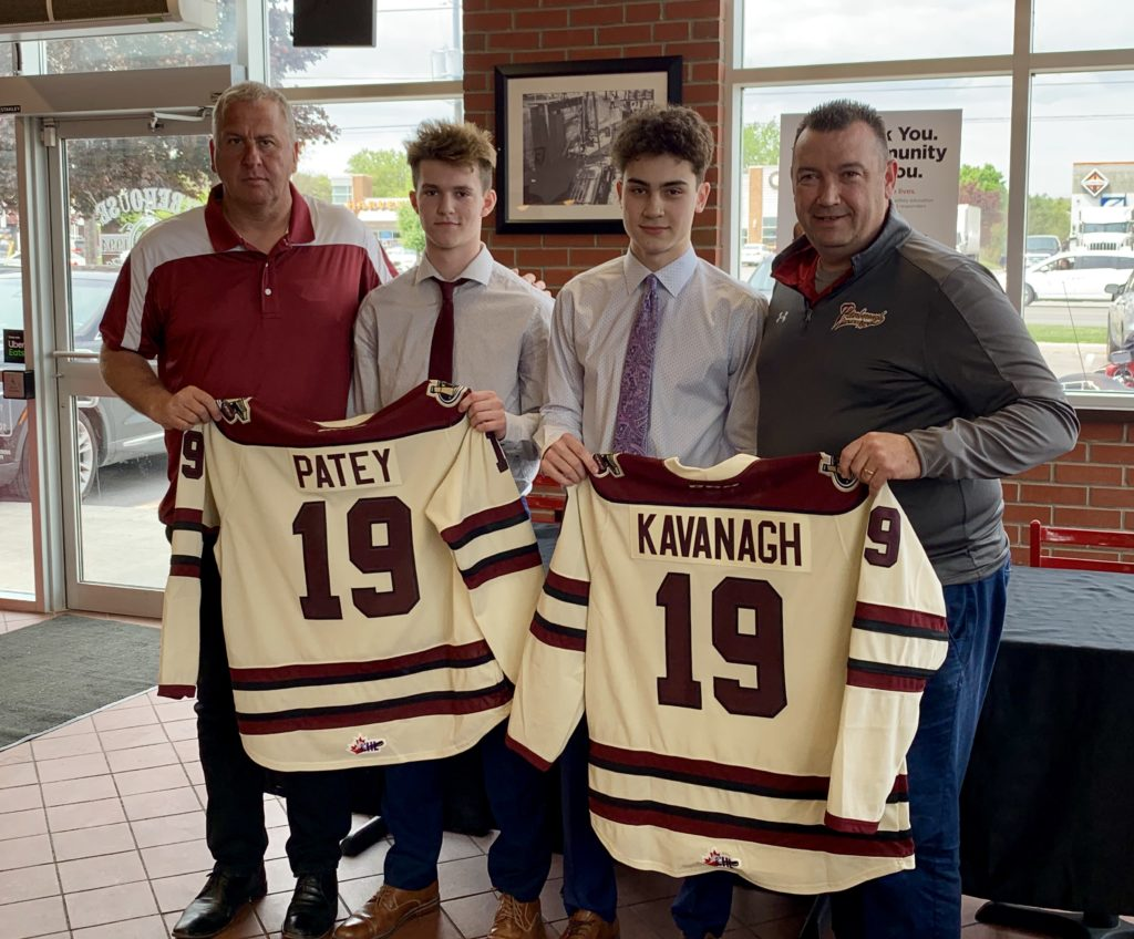 Kavanagh and Patey Commit to Peterborough Petes