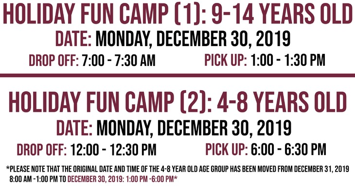 Holiday Fun Camp for WP