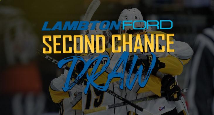 Lambton Ford Second Chance Draw 2019-20