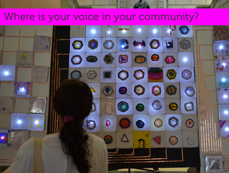 The Connected Messages Project served as an opportunity for youth in five libraries across North and West Philadelphia to communicate messages to each other over the internet using a DIY light-up circuitboard.