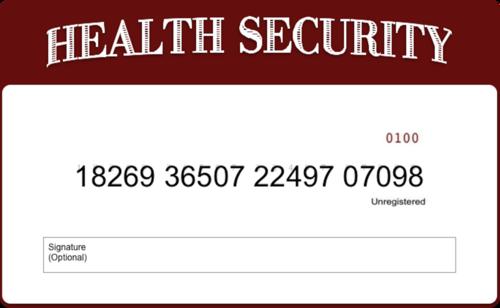 Thumbnail : Health Security Card