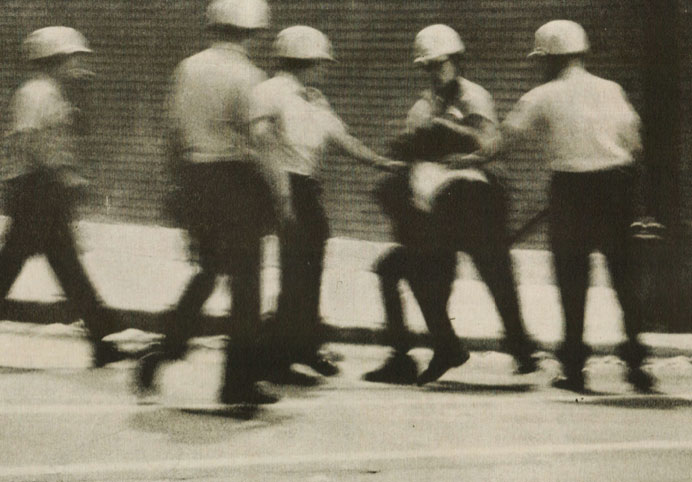 Never characterized as a soft-and-fuzzy people, America was taking a turn for the violent in 1967.