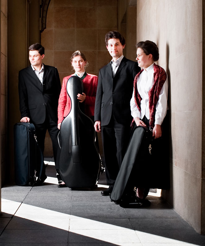The Girard Quartet - delighting the Musèe d'Orsay audience with a Boccherini feast.