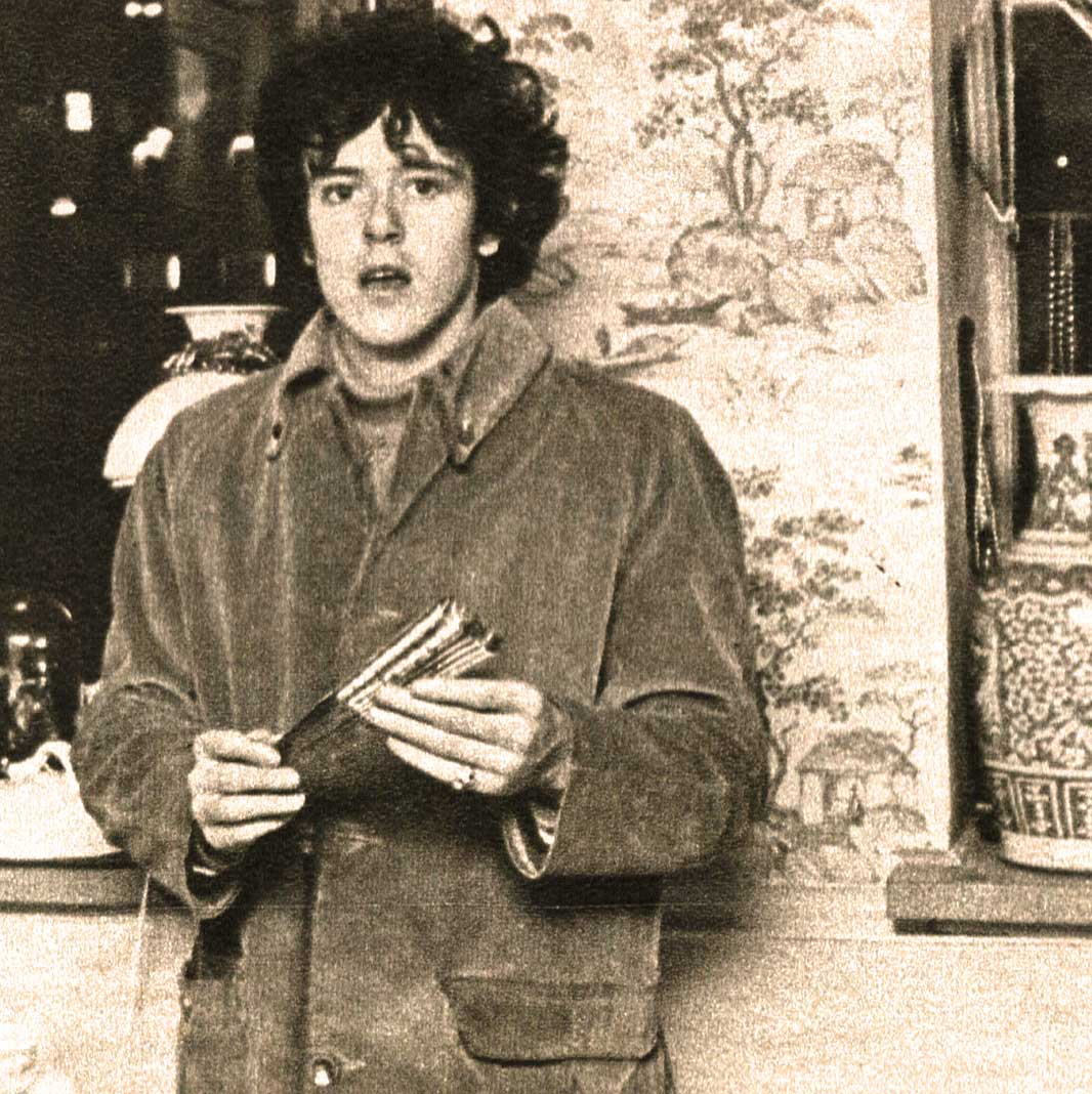 Donovan -  unfairly referred to as The British Bob Dylan at first.