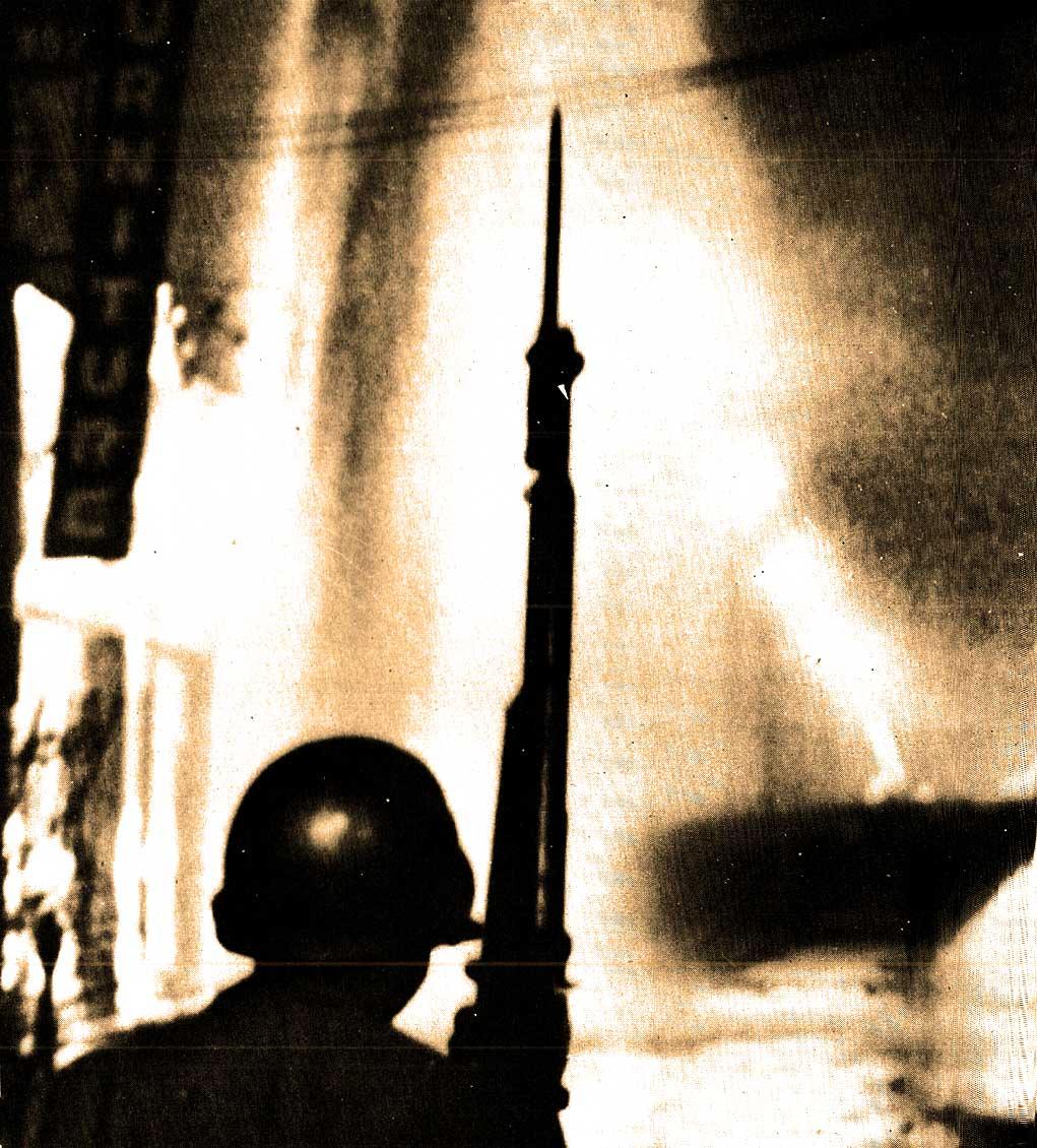 As urban unrest went - 1968 had no peers.