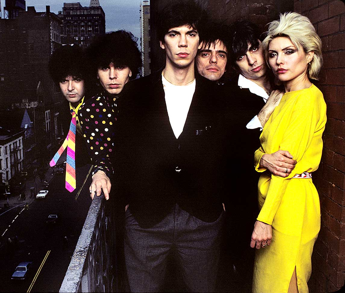Blondie - live in Glasgow - New years Eve 1979